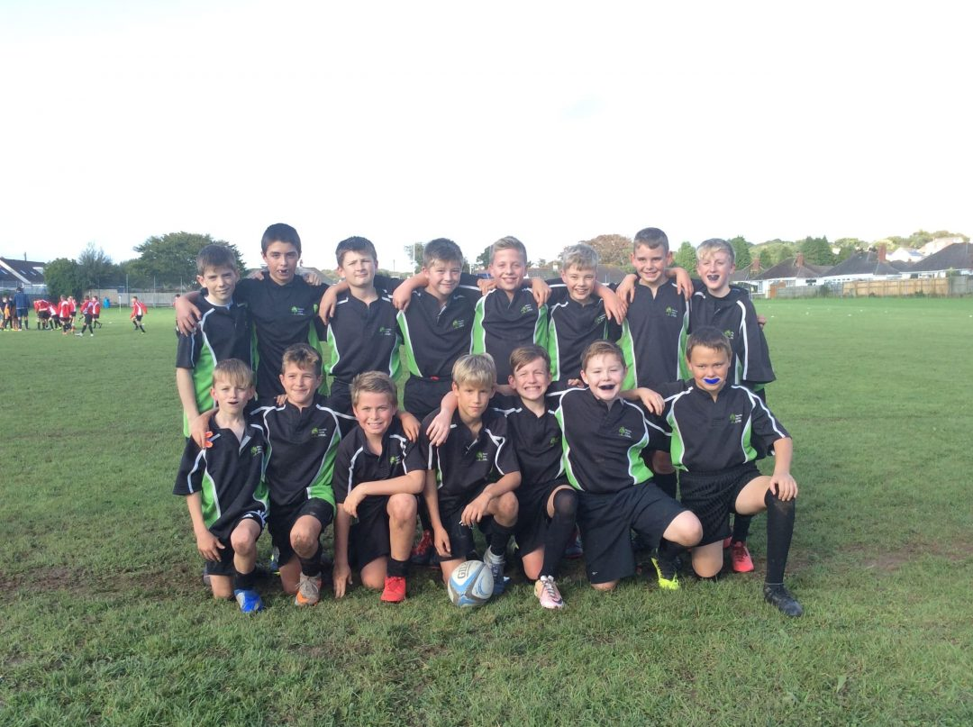 The Year 7 Rugby team