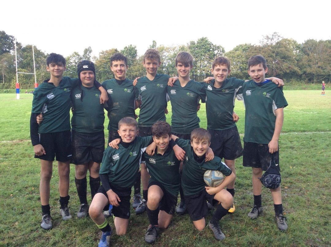 The Year 8 Rugby Team