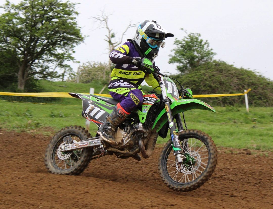 Beanie is a rising star on the Motocross stage