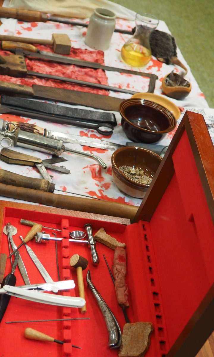 Swords and Spindles Barber Surgeon Newton Abbot College Ofsted Good Secondary School 6