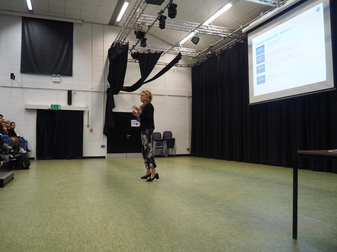 Jenny encouraged student to 'Imagine What's Possible...'