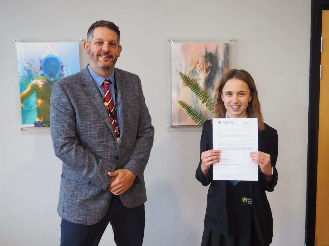 Emilia Luker was a first prize winner in the competition